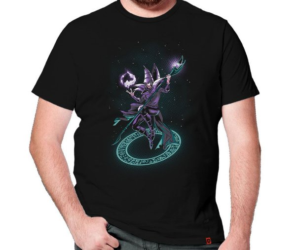 Camiseta Mago Negro
