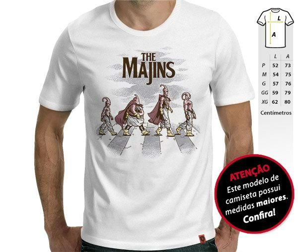 Camiseta The Majins