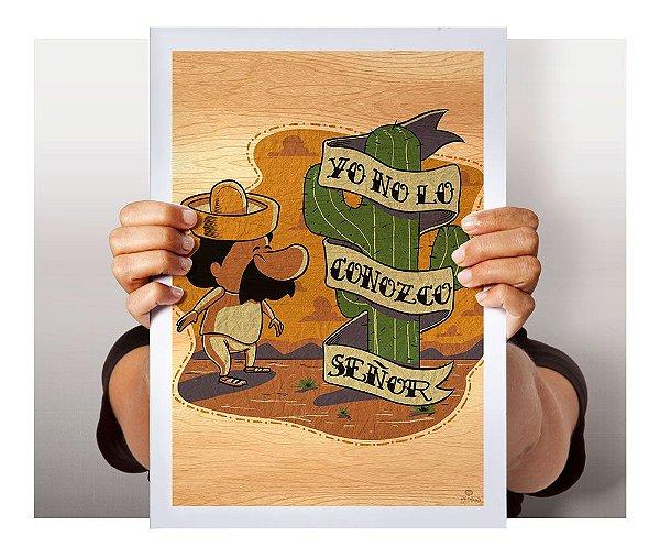 Poster No Lo Conozco