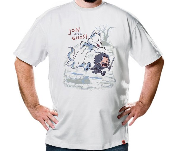 Camiseta Jon And Ghost