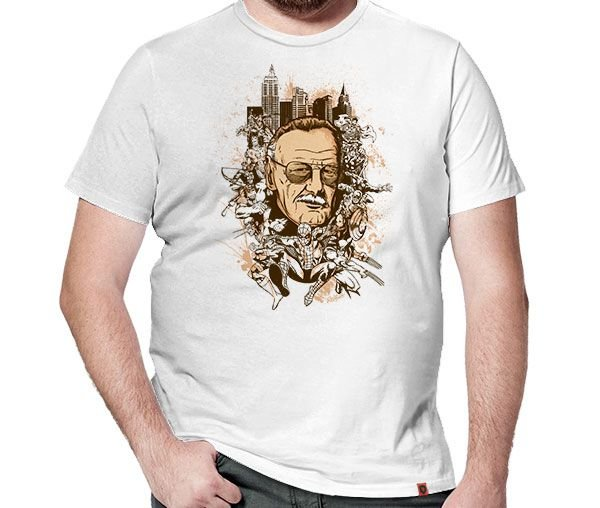 Camiseta Stan Lee