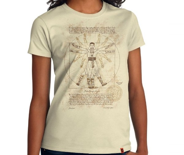 Camiseta Vitruvian Strange
