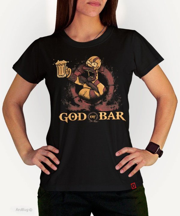 Camiseta God Of Bar