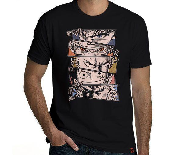 Camiseta Anime Legends