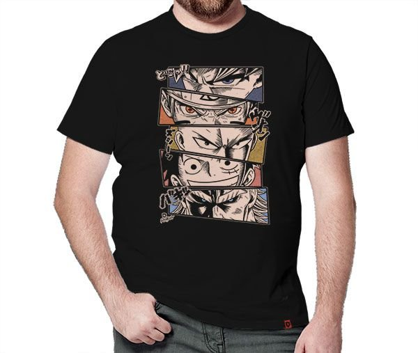 Camiseta Anime Legends