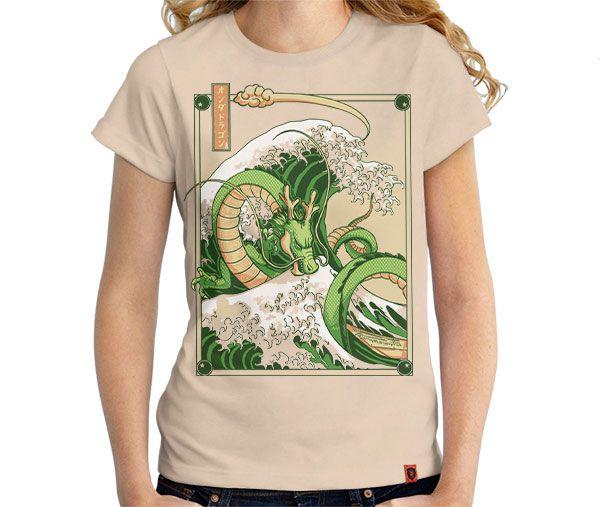 Camiseta Onda de Shenlong