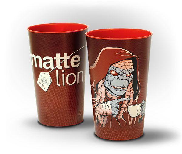 Copo Matte Lion