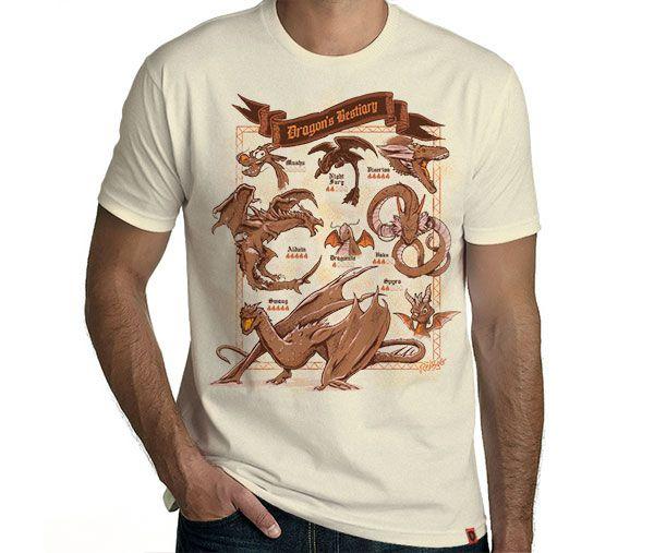 Camiseta Dragon's Bestiary
