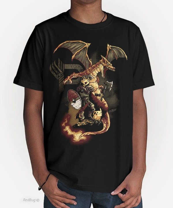 Camiseta Poké Viking