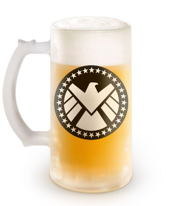 Caneca Agent of Beer