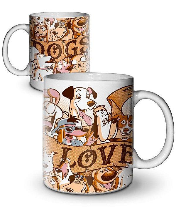 Caneca I Love Dogs