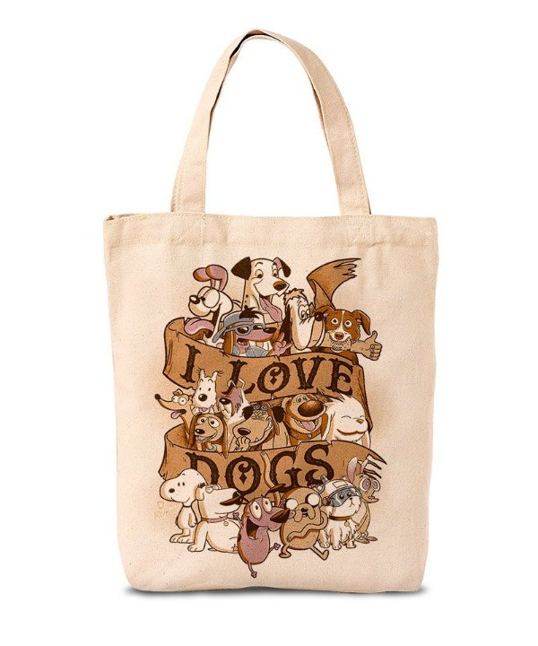 Ecobag I Love Dogs