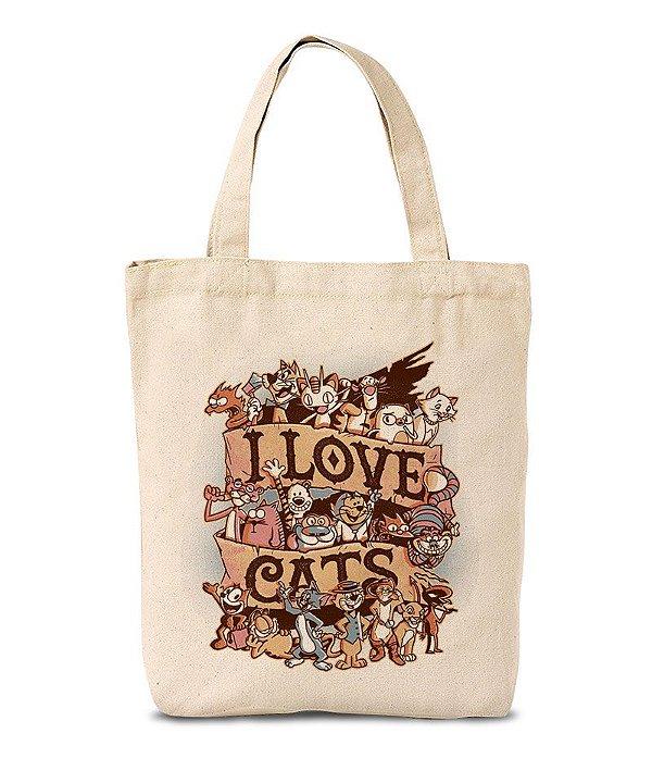 Ecobag I Love Cats