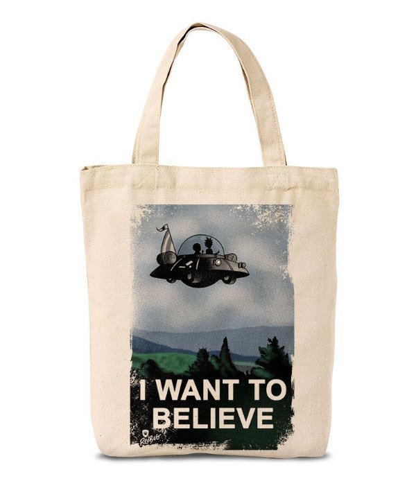 Ecobag I Want To Believe