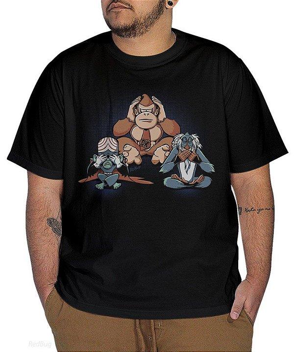 Camiseta Três Macacos