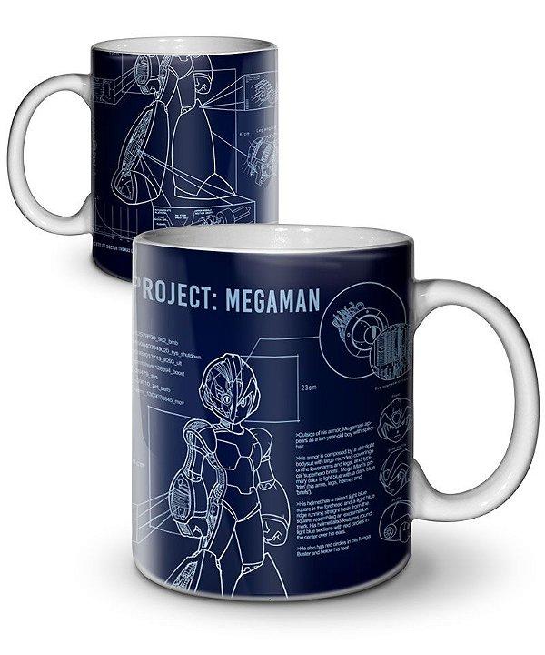 Caneca Project Megaman