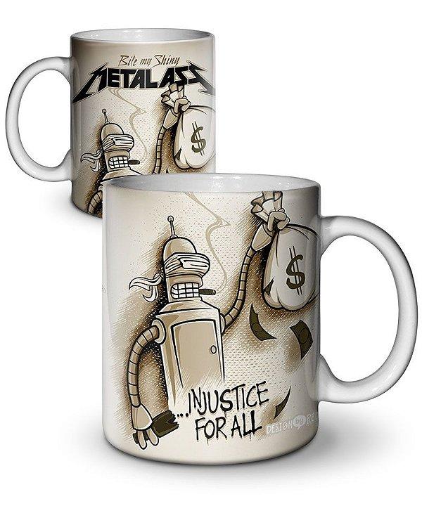 Caneca Metal Ass