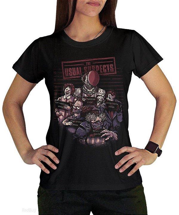 Camiseta Suspeitos Usuais