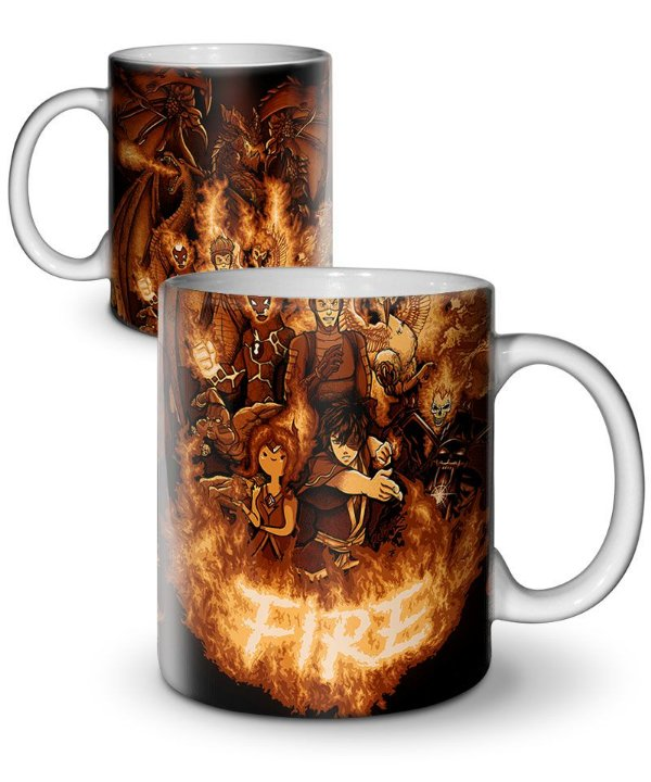 Caneca This is Fire