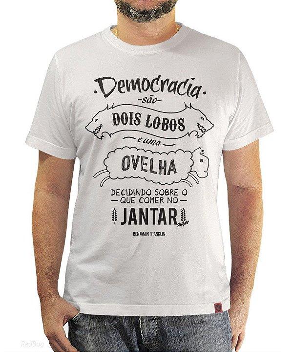 Camiseta Democracia