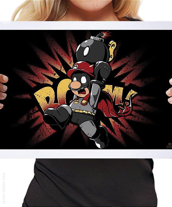 Poster Mario Bomb