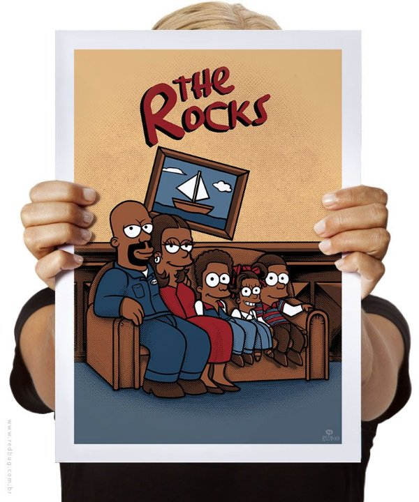 Poster The Rocks