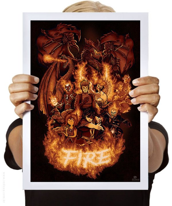 Poster This is Fire