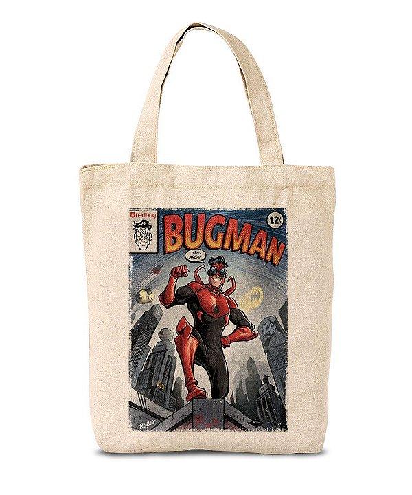 Ecobag Bugman na Área