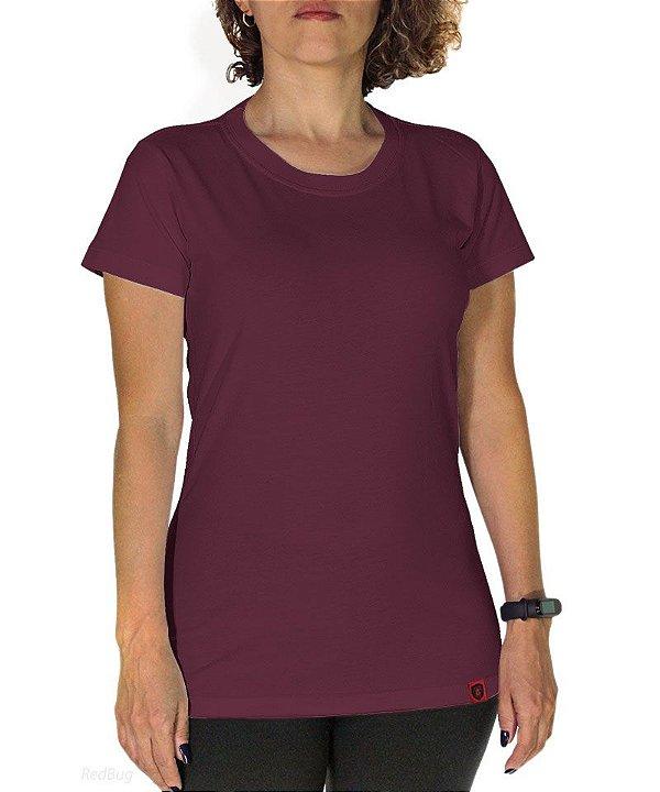 Camiseta Básica Roxo
