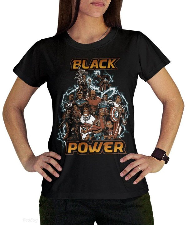 Camiseta Black Power
