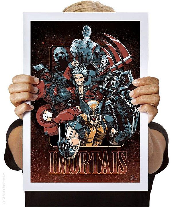 Poster Imortais