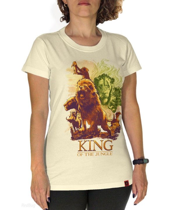Camiseta King Of The Jungle
