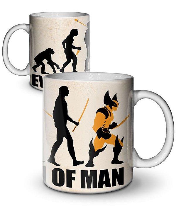 Caneca Evolution of Man