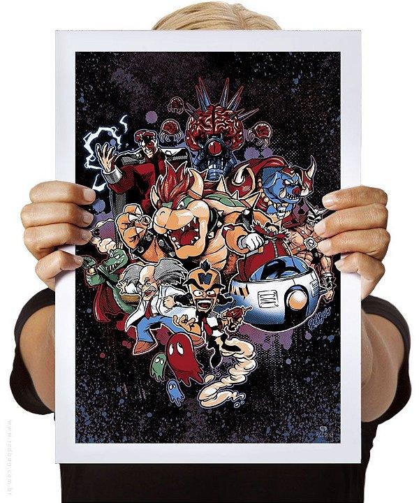 Poster Game Baddies