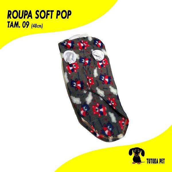 Roupa Pet Soft Pop Tam.09 - ClubPet