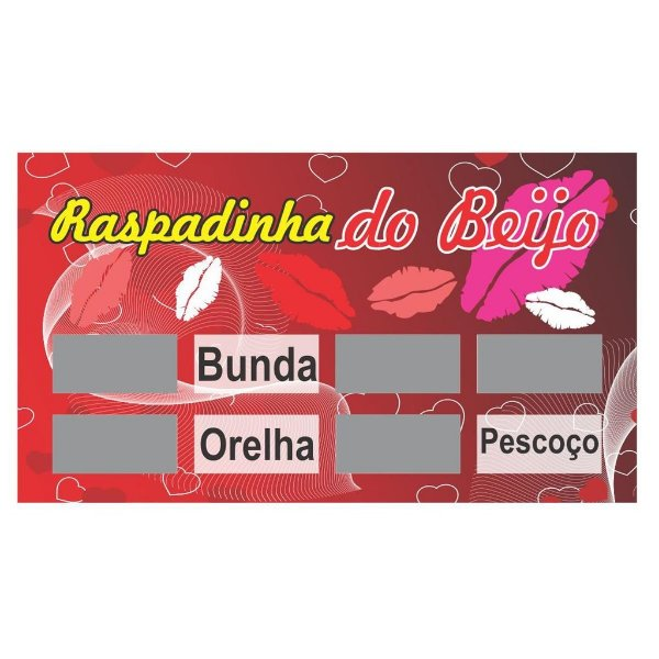 Raspadinha do Beijo- Erotika Store