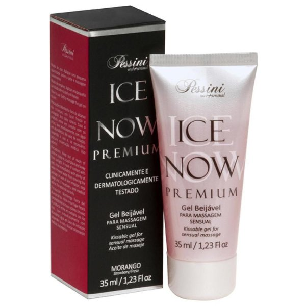 Ice Now Premium Morango 35ml Pessini - Erótika Store