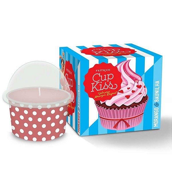 Vela Beijável Cup Kiss Feitiços Aromáticos - Erótika Store
