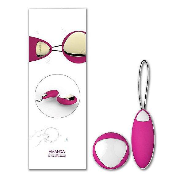Vibrador Com Vibração no Controle Wireless - S-Hande - Amanda - Erótika Store