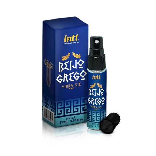 Beijo Grego Estimulante Anal Beijável Vibra Ice Intt - Erótika Store