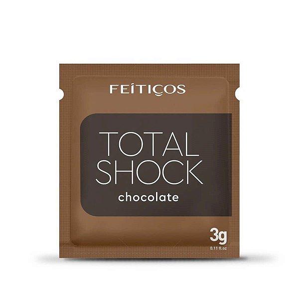 Total Shock Gel Eletrizante Beijável de Chocolate Feitiços Aromáticos - Erótika Store