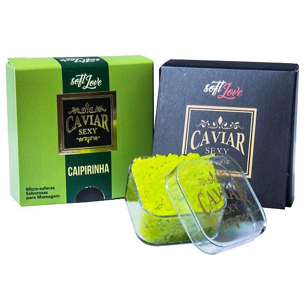 Caviar Sexy Caipirinha Micro Esferas Saborosas para Massagem  Soft Love - Erótika Store