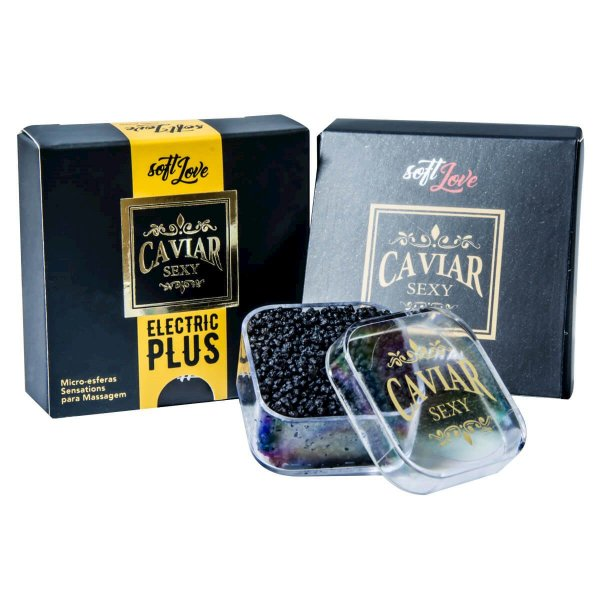 Caviar Sexy Electric Plus Micro Esferas Sensations para Massagem Soft Love - Erótika Store