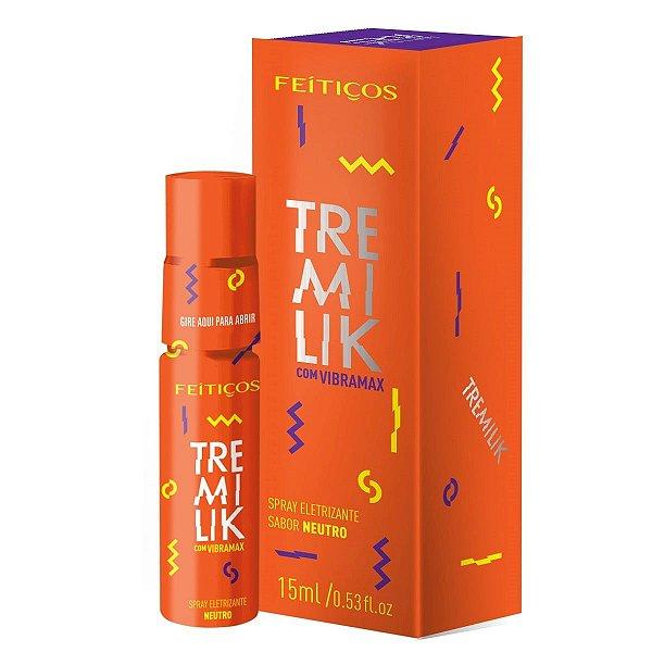 Tremilik Spray Eletrizante com Vibramax Sabor Neutro Feitiços Aromaticos - Erótika Store