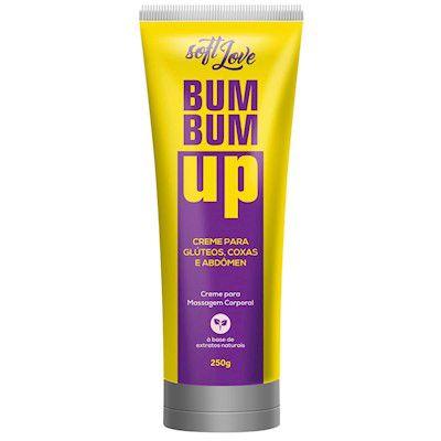 Bum Bum Up é um creme firmador De Glúter Coxa E Abdômen Soft Love - Erótika Store