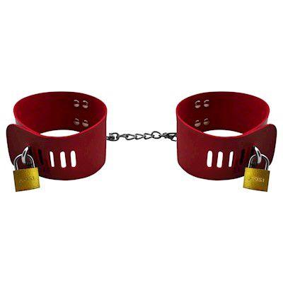 Algema Bracelete Carrara Com Corrente E Cadeado - Erótika Store