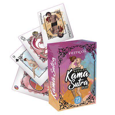 Baralho Kama Sutra Duo Feitiços Aromáticos - Erótika Store