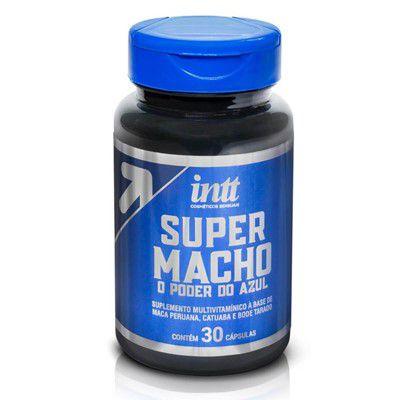 Super Macho O Poder Do Azul Cápsulas Potencializador Masculino - Erótika Store