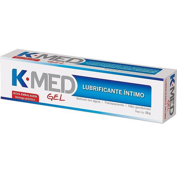 Gel Lubrificante Íntimo K-MED - Erótika Store