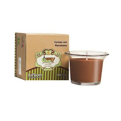 Sexy Candy Chocolate com Menta 40gr Hot Flowers-Erotika Store